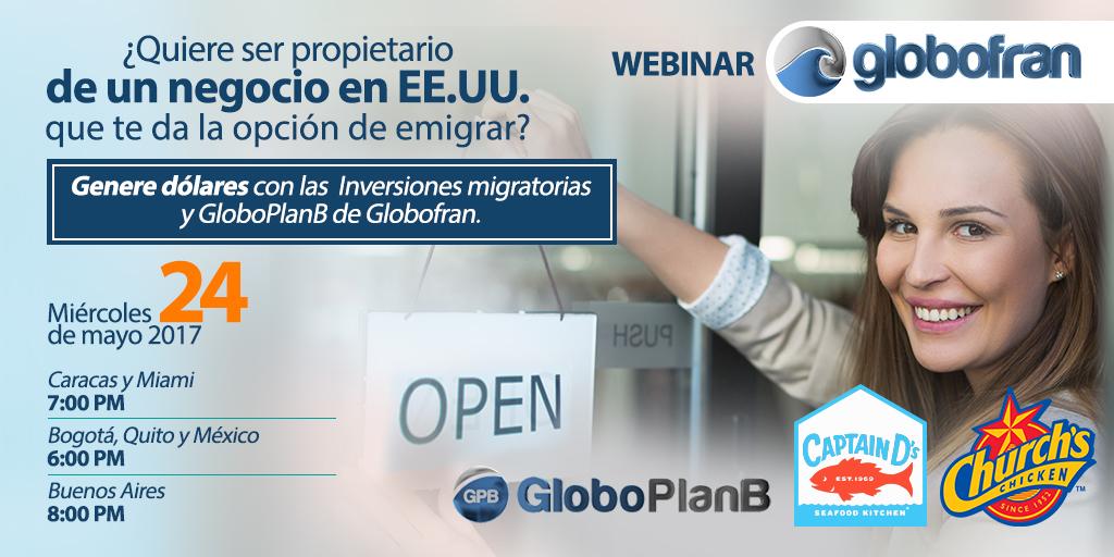 Propietario de un negocio webinar Globofran 2