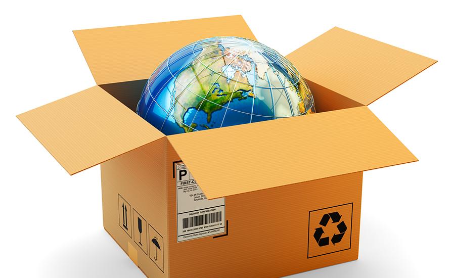 una franquicia de envíos y embalaje