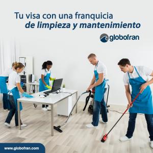 franquicia de limpieza y mantenimiento