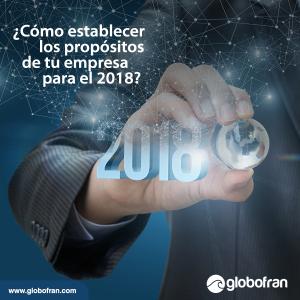 propósitos de tu empresa para el 2018