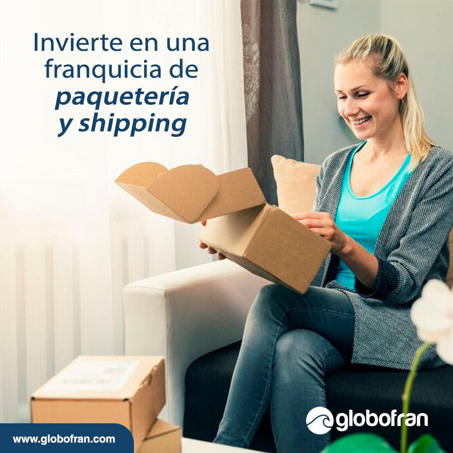 franquicia de paquetería y shipping